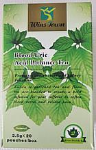 """Ортопедический чай Wan Song Tang """"Blood Uric Acid Balance Tea"""" травяной, для суставов (20 пакетиков)"""