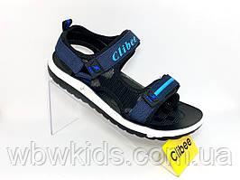Босоножки детские Clibee Z-550 на мальчика синие