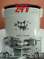 Мультиварка пароварка автомобильная на 1л. 24v ( мощность130 Ватт). Рисоварка для дальнобойщиков. 24 v
