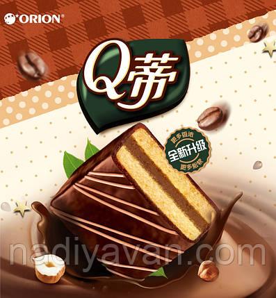 Бисквит шоколадный  с лесными орехами  Orion Q 168g, фото 2