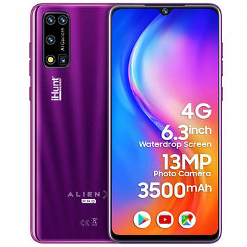Смартфон iHunt Alien X Pro 2021 Purple