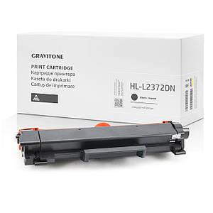Совместимый картридж Brother HL-L2372DN (тонер-картридж) стандартный ресурс, 1.200 копий, аналог от Gravitone