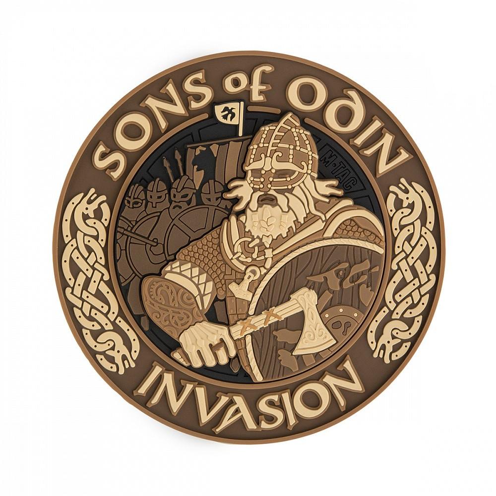 M-Tac нашивка Sons of Odin 3D PVC Coyote