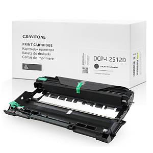 Совместимый драм-картридж Brother DCP-L2512D (drum), модуль фотобарабан, 12.000 копий, аналог от Gravitone
