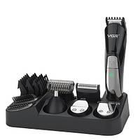 Машинка для стрижки волос 6 в 1 VGR V-012 триммер