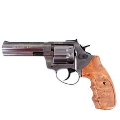 """Револьвер під патрон флобера Stalker Grey (4.5"""", 4.0 mm), рукоятка коричнева"""