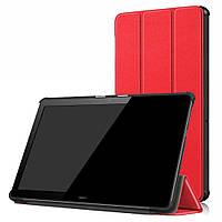 Чехол Smart Cover для Huawei MediaPad T5 10 Red