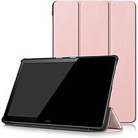 Чехол Smart Cover для Huawei MediaPad T5 10 Rose Gold