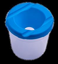 Стакан-непроливайка, синяя