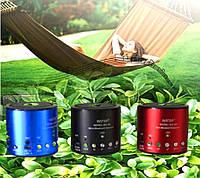 Портативная Bluetooth колонка MP3 плеер WS-Q9- беспроводная блютуз колонка с FM радио