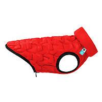 Двусторонняя курточка AiryVest UNI для собак, размер L55, красная/черная (2568)