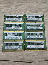 Оперативная память для ноутбука SO-DIMM DDR4 8GB PC4-17000 2133MHz (Samsung)  бу