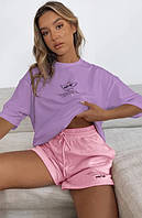 Костюм жіночий футболка+шорти 82566