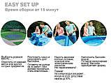 ✅Сімейний надувний басейн Intex 28106 244х61 см (Intex 28110), фото 6