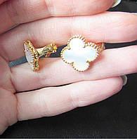 Ювелірні сережки van cleef arpels з фірмовім серійнім номером, фото 1