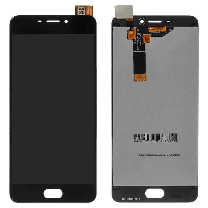 Экран и сенсор для Meizu M6 (дисплей модуль) черный (OEM)