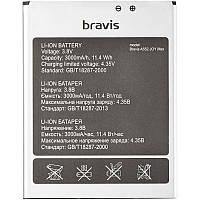 Батарея на телефон Bravis Joy MAX (A552) (аккумулятор среднего качества)