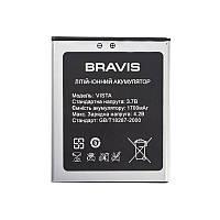 Батарея на телефон Bravis Vista (аккумулятор среднего качества)