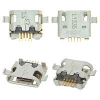 Коннектор зарядки HTC Desire 820/816/610 (2шт)