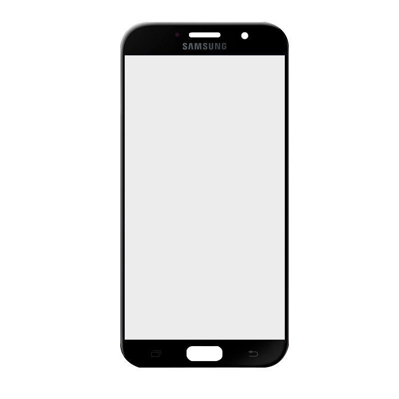 Скло дисплея (деталь для переклеювання) Samsung A320, A3-2017 Black