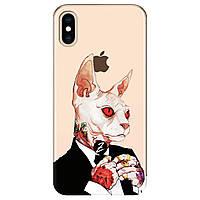 Чохол для Apple iPhone XS Max Mister cat