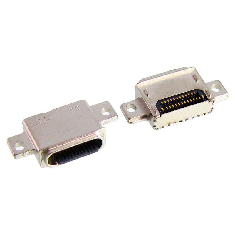 Коннектор зарядки Samsung G950/G955/N960 (2шт)
