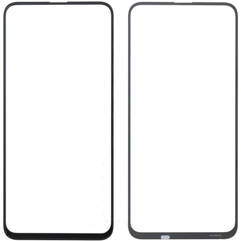 Стекло дисплея (деталь для переклейки) Huawei Honor 9x Black