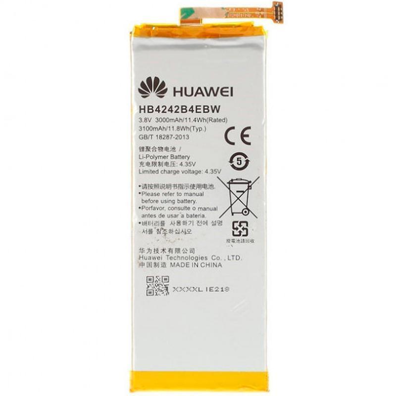 Батарея для телефону Huawei Honor 6, 4X (HB4242B4EBW) (Акумулятор середньої якості)