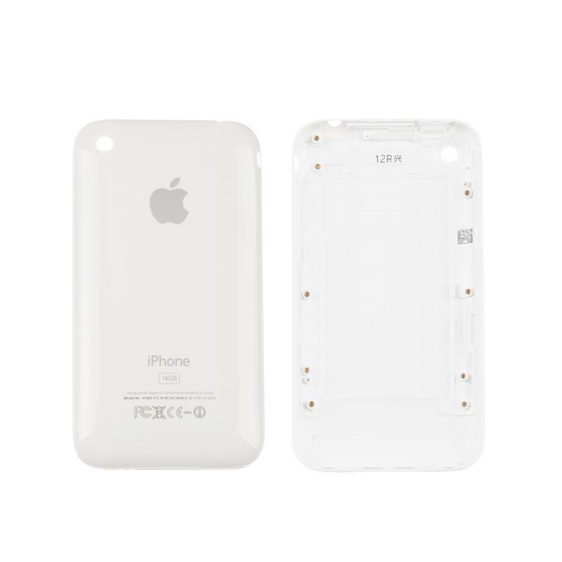 Задняя крышка с рамкой iPhone 3Gs 16Gb White