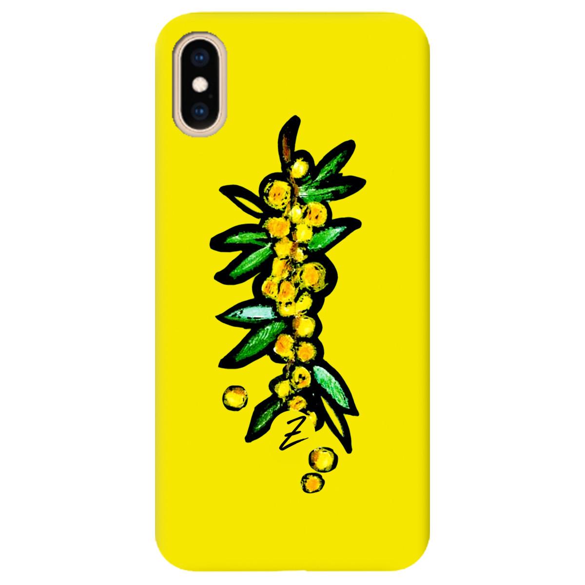 Чохол для Apple iPhone XS Max Sunny berry