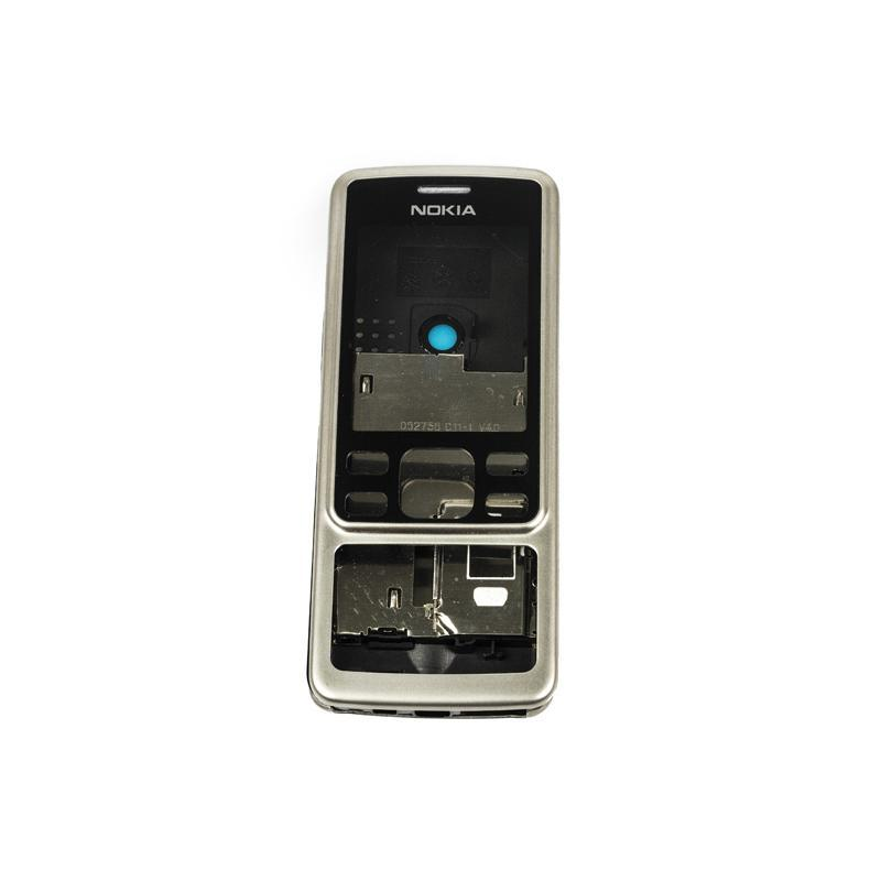 Корпус High Copy Nokia 6300 полн. Серебро