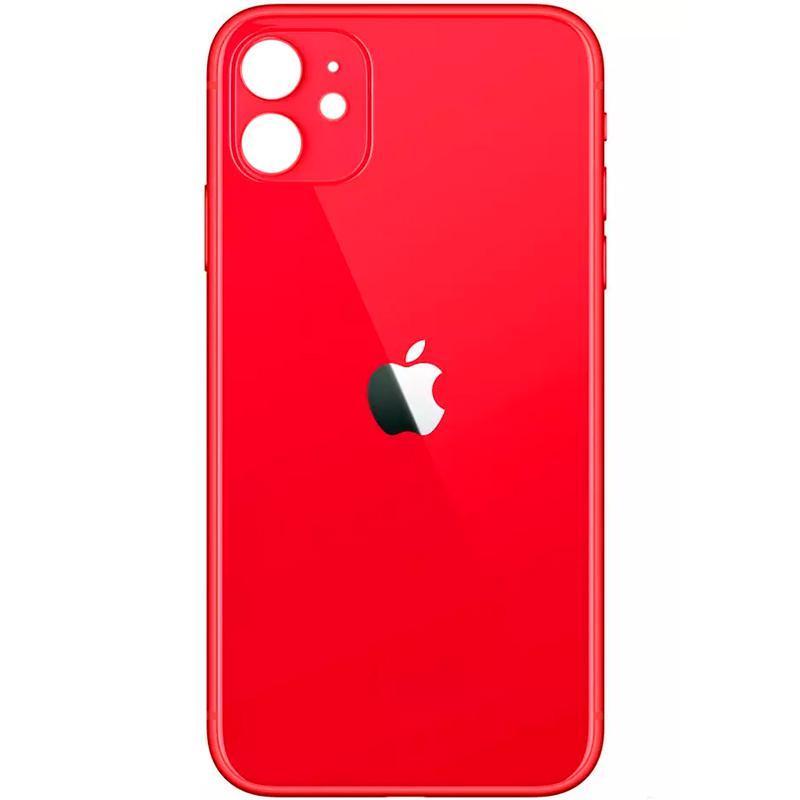 Задняя крышка iPhone 11 (Small hole) Red