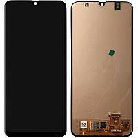 Екран і сенсор для Samsung A307, A30s - 2019 (дисплей модуль) чорний (In - Cell)