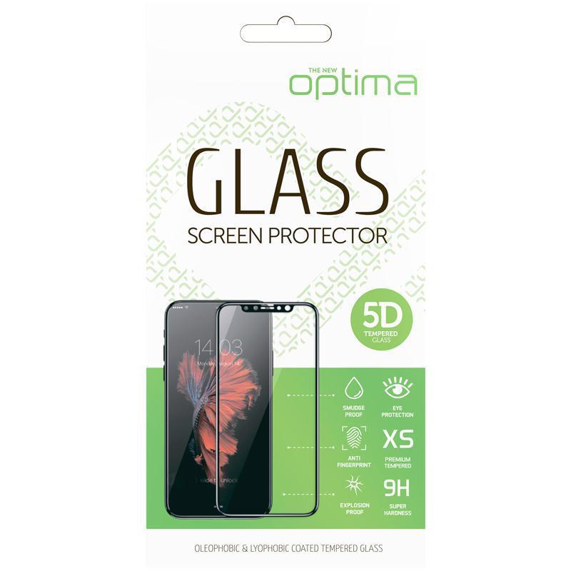 Захисне скло Optima 5D for Samsung A505 (A50) Black