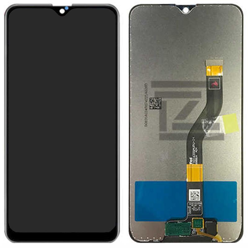 Екран і сенсор для Samsung A107, A10s - 2019 (дисплей модуль) чорний (OEM)
