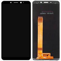 Экран и сенсор для Meizu M6s (дисплей модуль) черный (OEM)