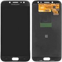 Экран и сенсор для Samsung J701, J7 Neo - 2017 (дисплей модуль) черный (TFT с регулировкой яркости)