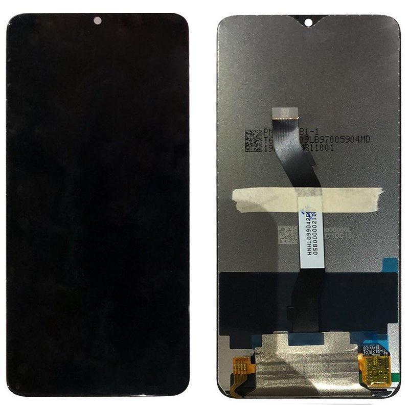 Экран и сенсор для Xiaomi Redmi Note 8 Pro (дисплей модуль) черный (OEM)