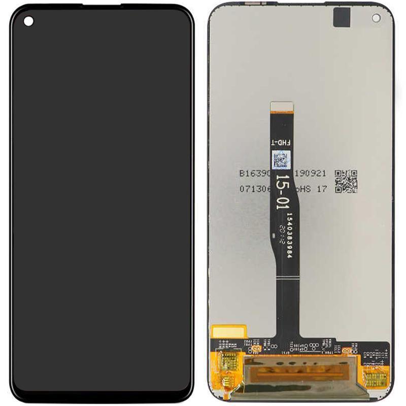 Екран і сенсор для Huawei P40 Lite, Nova 6 SE (дисплей модуль) чорний