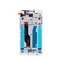 Екран і сенсор для Xiaomi Redmi Note 4x с рамкой (дисплей модуль) чорний (OEM)