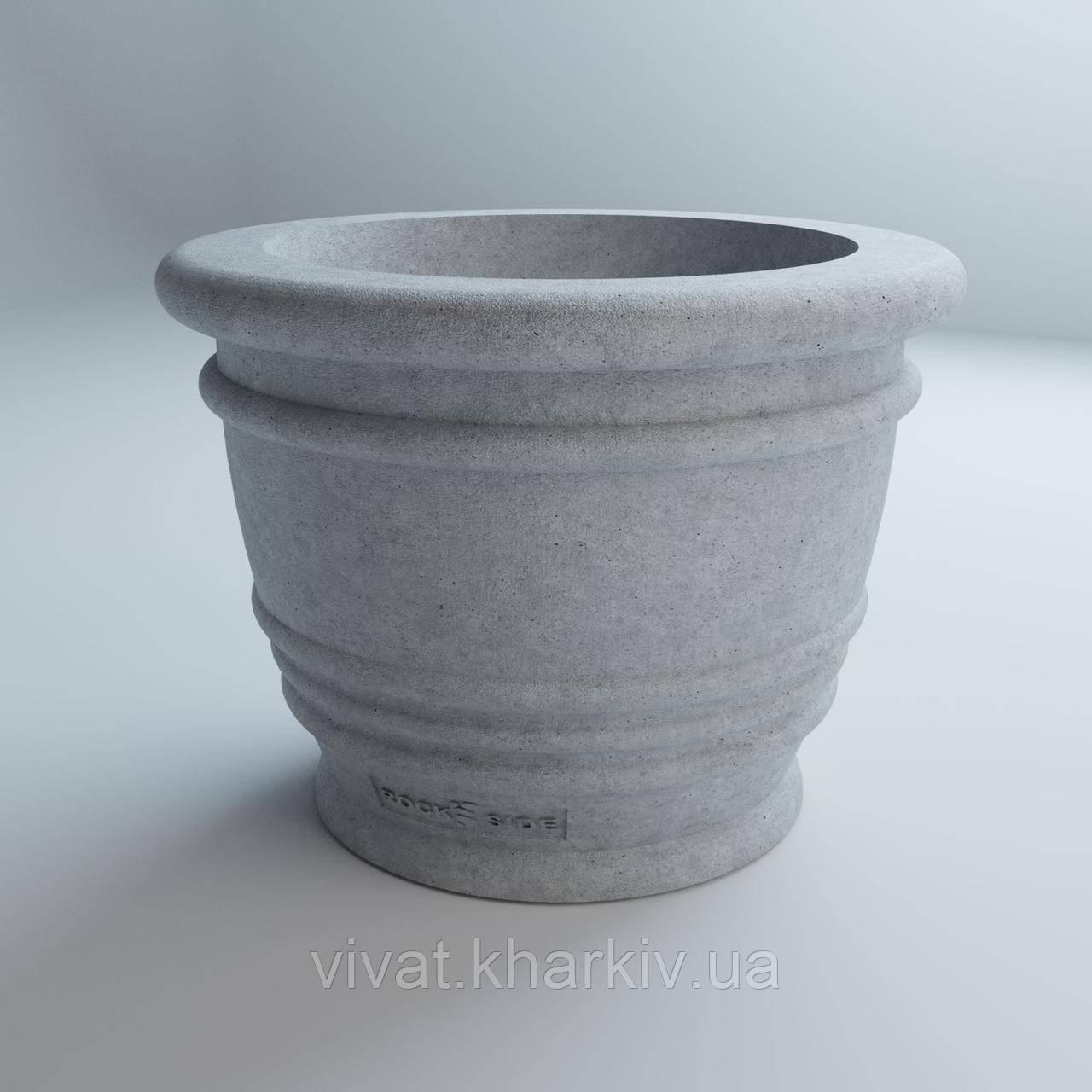 Бетонний вазон ЛОФТ Ріо 54 х 67-44 см Vivat