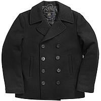 Пальто бушлат Alpha Industries USN Navy Pea Coat MJN45032C1 (Black)