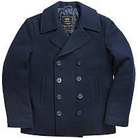 Пальто бушлат Alpha Industries USN Navy Pea Coat MJN45032C1 (Navy)