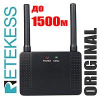 Усилитель сигнала, ретранслятор, репитер 433 МГц RETEKESS F4408A, для беспроводных систем вызова официанта