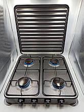 Плита газовая DOMOTEC MS-6604 4 конфорки под сжиженный газ