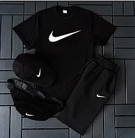 Шорты и футболка Nike мужской комплект / Летний костюм Найк Турция хлопок