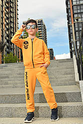 Спортивный детский костюм тройка для мальчика Plein