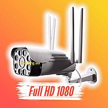 Уличная IP, WIFI камера видеонаблюдения UKC CAD 23D 2 mp водонепроницаемая беспроводная