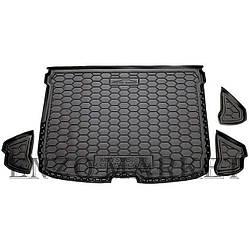 Автомобильный коврик в багажник Mitsubishi Eclipse Cross 2017- (Avto-Gumm)