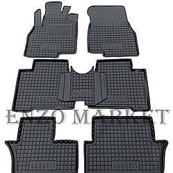 Автомобільні килимки в салон Mitsubishi Grandis 2003- (7 місць) (Avto-Gumm)